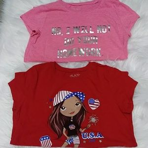 2 shirt bundle size 10/12